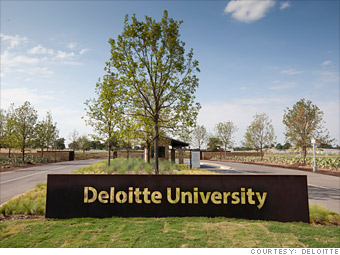 Deloitte - Best Companies to Work For 2012 - Fortune