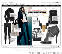 ee556a33bcfb1 Net-a-porter s weekly online magazine can be read by the website s 2  million unique monthly visitors