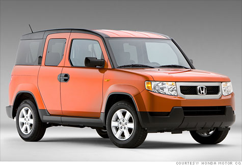 Honda Element Mpg >> Honda Element To End Production After The 2011 Model Year Dec 10