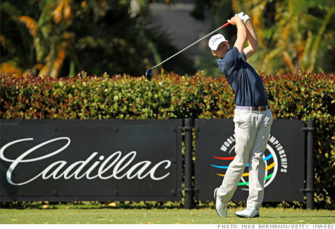 Cadillac Pushes Into Pga Tour Mercedes Owns The Masters