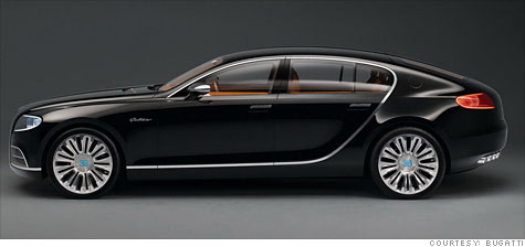 Bugatti Galibier A Family Sports Car For Only 1 4 Million