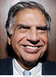 Ratan Tata's Tata Group consists of 98 operating companies and joint ventures that fit into seven business sectors.