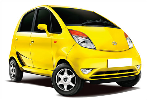 The Tata Nano gets 50 miles to the gallon and costs $2,900.