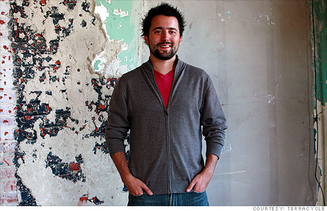 Tom Szaky, 29, is founder and CEO of Terracycle
