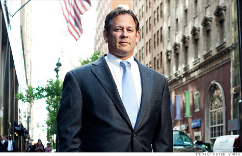 Rick Rieder outside BlackRock?s headquarters in