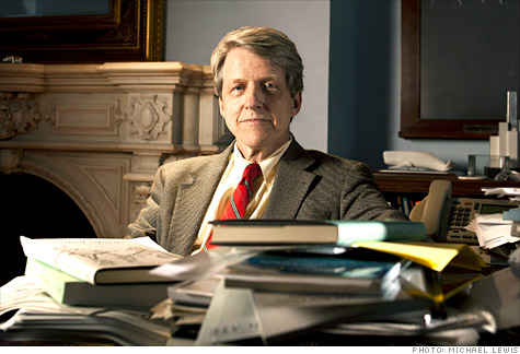 Robert Shiller, the man who spotted the two biggest bubbles of this century warns not to get swayed by celebrity.