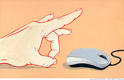 Gesture-recognition will make the mouse obsolete.