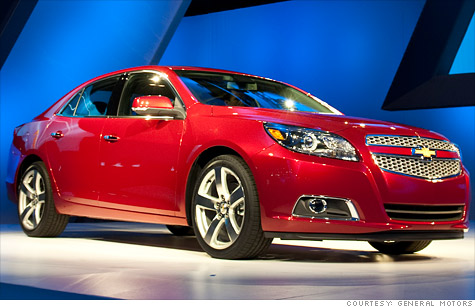 Least liked: The 2013 Chevrolet Malibu Eco