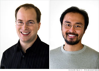 Paul Buchheit and Sanjeev Singh