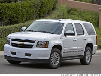 Chevrolet Tahoe gas electric hybrid