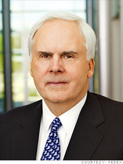 Fred W. Smith, Founder and CEO, FedEx