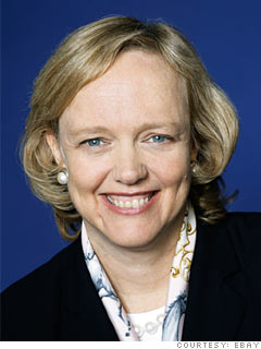 Meg Whitman Former CEO, eBay
