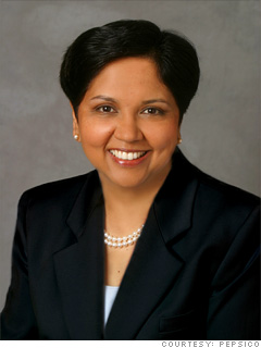 Indra Nooyi, CEO and chairwoman, Pepsi