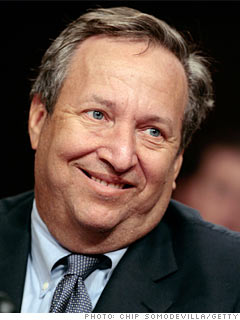 Larry Summers, professor, Harvard University