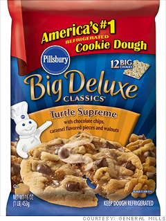 New Improved Profit Margins Pillsbury Turtle Cookie Dough 5 Fortune