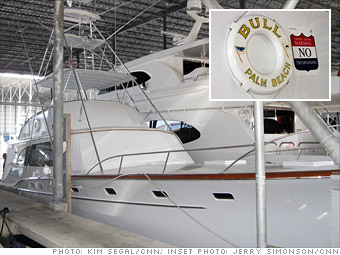 A yacht named 'Bull'