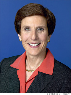 irene rosenfeld leadership Irene rosenfeld doesn't usually have time for chit-chat as chief executive of kraft , she has been busy for almost three years running america's largest food company and successfully steering the.