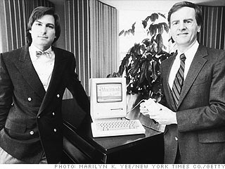 John Sculley's palace coup