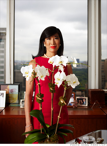 Andrea Jung, CEO of Avon