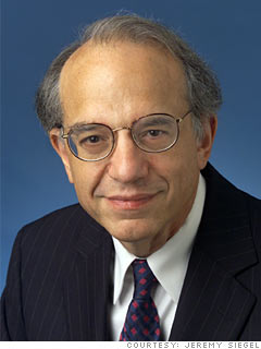 Jeremy Siegel: Sticking through the shocks