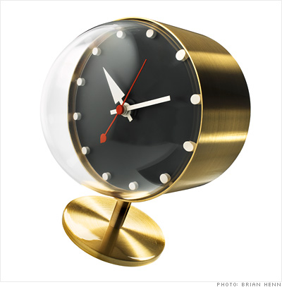 holiday gifts for work and play the workaholic desk clock 1 fortune. Black Bedroom Furniture Sets. Home Design Ideas