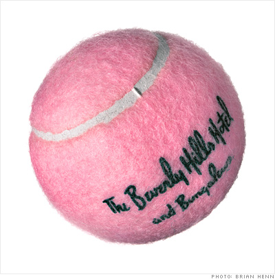 The sports nut: Pink tennis balls