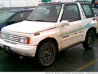 9 Cute Suvs From The Last Decade Suzuki Sidekick 1988 2 Cnnmoney