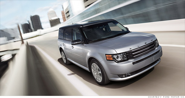 Convertibles And Convertible Wannabes 2017 Ford Flex