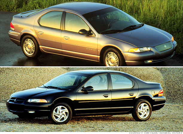 Car Of The Year Flops 1995 Chrysler Cirrus Dodge Stratus