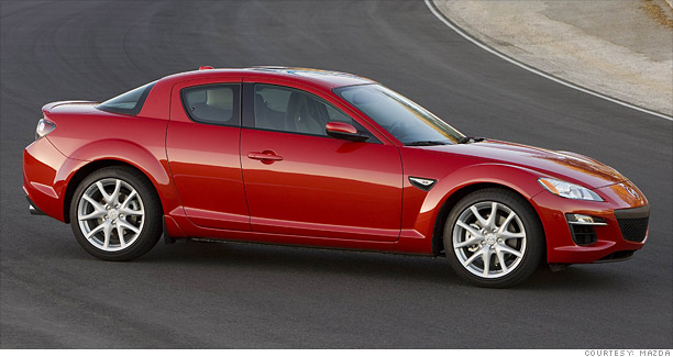 Sports Coupes Slick Styling Short Life Mazda Rx 8