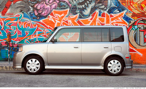 Battle Of The Box Cars Scion Xb 2004 5 Cnnmoney