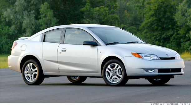 3 Door Coupes And Other Oddities Saturn Ion 2003 2007 3 Cnnmoney