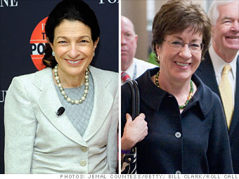 Olympia Snowe and Susan Collins