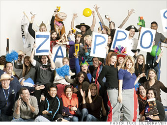 Best Companies to Work For: Happy Campers - Zappos (2 ...