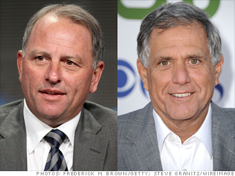 Jeff Fager and Leslie Moonves