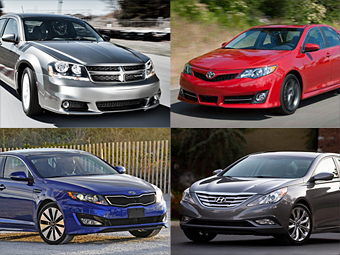 12 mid-size cars for 2012 - Car Wars: Fusion vs. the field (1 ...