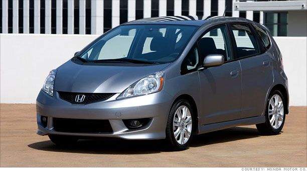 Honda Fit In Any Value Calculation The Ranks At Top Of A Big Car With Small Package It Carries Low Entry Price Gets Great Gas