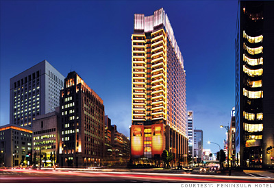 The best new business hotels the peninsula tokyo 32 for Top design hotels tokyo