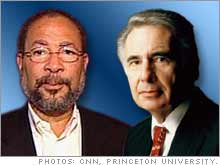 Dick Parsons, Time Warner CEO, and Carl Icahn.
