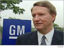 General Motors CEO Rick Wagoner