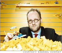 Lego CEO Knudstorp is reshaping the company's strategy and bottom line.